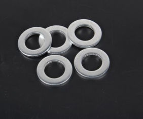 China Thick 2 Inch Ss Flat Washers , 316 Stainless Steel Washers USS 5/16 supplier