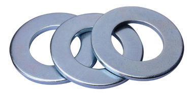 China Round Bulk Galvanized Flat Washers Dimensional Stable Non Deformable supplier