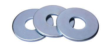 China Custom Chrome Plated Round Flat Washers For Construction Structure supplier